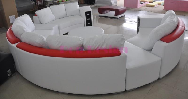 canap rond design excellent canap microfibre ub design. Black Bedroom Furniture Sets. Home Design Ideas